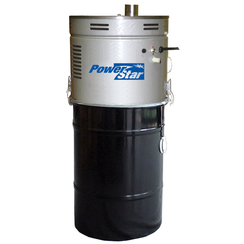 Power Star 3000C Central Vacuum Unit - Quiet 2 Motor with Valve