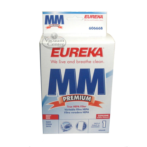 Genuine Eureka Style MM HEPA Filter     Manufacturer Part No.: 60666B-6