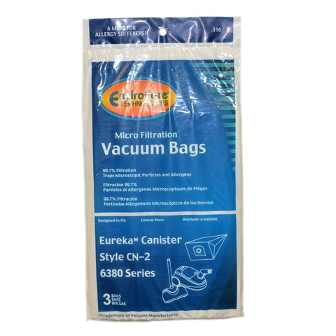 Eureka Canister Replacement Vacuum Bag
