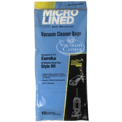 Package of 10 Replacement Eureka Style RR Microlined Filter Bags