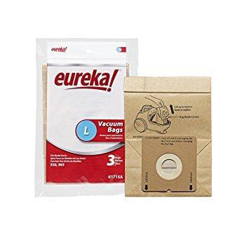 Genuine Eureka Style L Bags - 3 Pack - Manufacturer Part 61715A-6