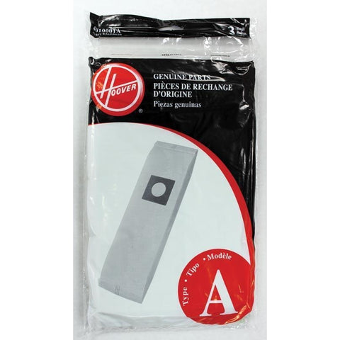Hoover Vacuum Bag, Type A Upright Top Fill