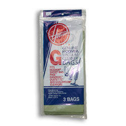 Hoover Vacuum Bag, Type G Quick Broom 8 - TheVacuumCenter.com