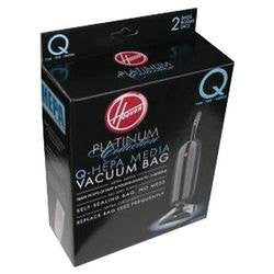 Package of 2 Genuine Hoover Type Q Bags - TheVacuumCenter.com