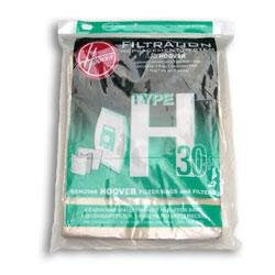 Package of 5 Genuine Hoover Type H-30 Bags - TheVacuumCenter.com