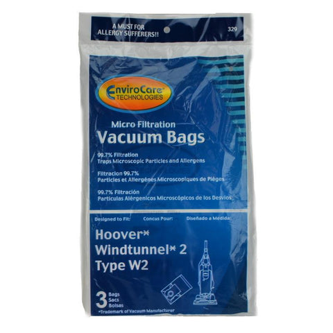 Hoover Replacement Vacuum Bag, Hoover Type W2