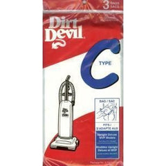 Genuine Dirt Devil TYpe C Bags 3 Pack - (Micro Lined) - TheVacuumCenter.com