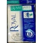 Genuine Royal Type B HEPA Filtration Bags 3 Pk