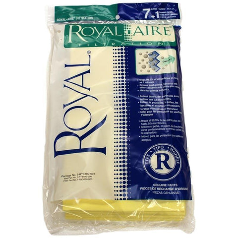 Royal Vacuum Bag, Airo-Pro Type