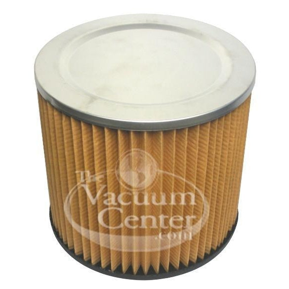 Replacement Shop Vac Cartridge Filter   Manufacturer Part No.: AS6VAC - TheVacuumCenter.com