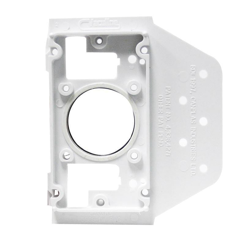 Central Vac 2 X 4 Construction Mounting Plate