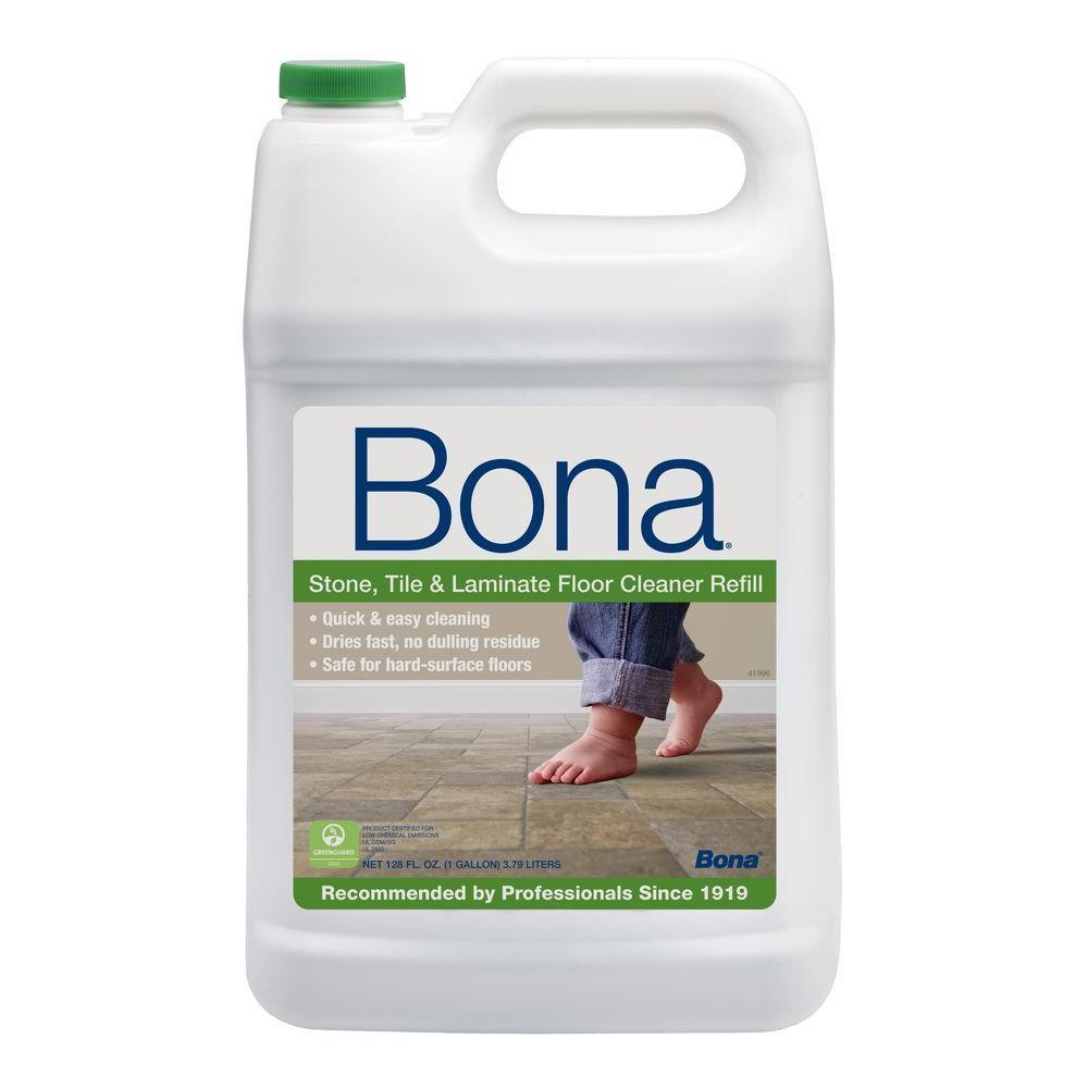 Bona Stone, Tile and Laminate Floor Cleaner Refill, one gallon