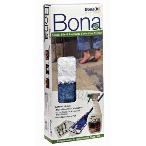 Bona Stone, Tile and Laminate Floor Care Kit - TheVacuumCenter.com