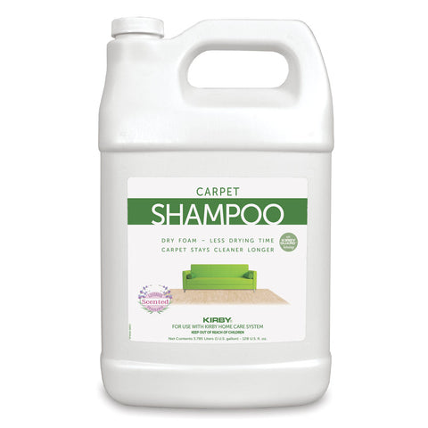 Kirby Carpet Shampoo Allergen Reduction Lavender Scent 1 Gallon