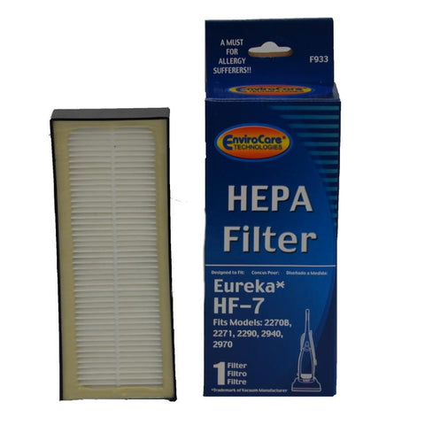 Eureka HF-7 HEPA Odor Neutralizing Filter by Envirocare