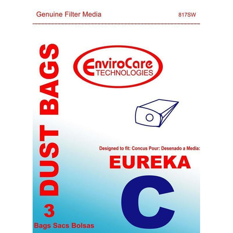 Generic Style C bags for Eureka Mighty Mite 3 pk.