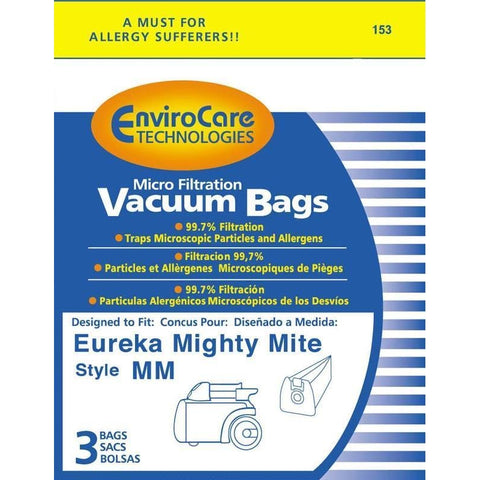 Eureka Style MM Vacuum Bags for Mighty Mite - Generic - 3 pk