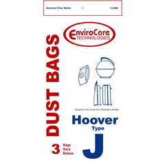 Generic Paper Bag for Hoover Style J Constellation Slimline (3) pack. - TheVacuumCenter.com