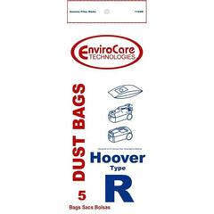 Generic paper bags for Hoover Type R fits Tempo/Sprint Canister (5 Pack) - TheVacuumCenter.com