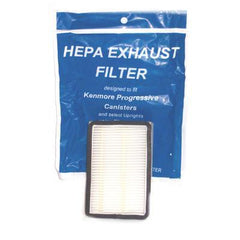 "Kenmore Progressive Exhaust Filter HEPA size 4 1/4""x 3""   Manufacturer Part No.: 471194 - TheVacuumCenter.com"