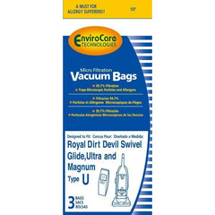Generic Paper Bag for Type U Dirt Devil upright - TheVacuumCenter.com