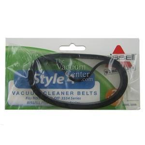 Genuine Bissell Style 4 Belt, 2 Pack - Manufacturer Part No.: 32035 - TheVacuumCenter.com