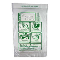 Replacement Compact/Tristar Vacuum Cleaner Bags (5 bags) - TheVacuumCenter.com