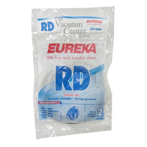 Genuine Eureka Style RD Belt, 2 Pack    Manufacturer Part No.: 52100C-12