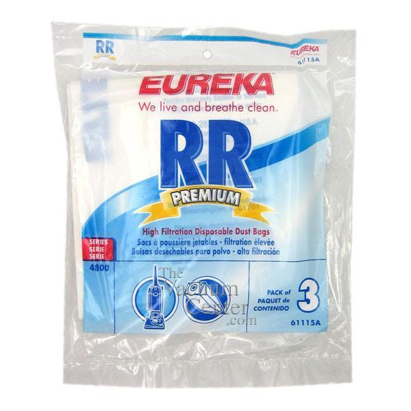 Package of 3 Genuine Eureka Style RR Filteraire Bags   Manufacturer Part No.: 61115B-6 - TheVacuumCenter.com