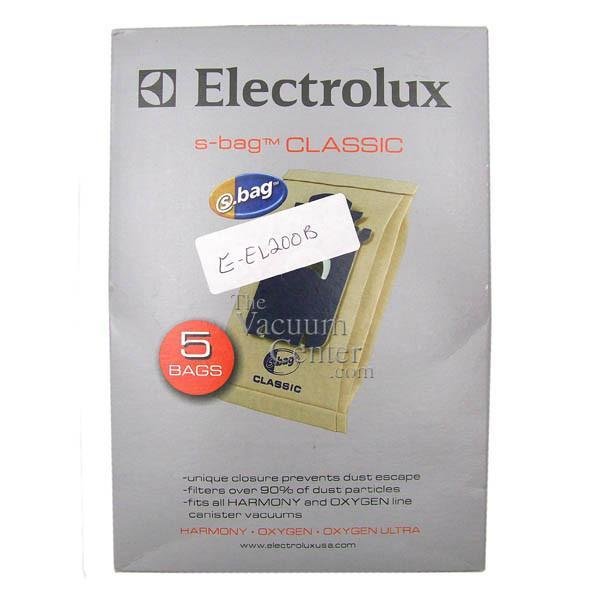 Genuine Electrolux 5 Pack Bags for Harmony and Oxygen Canister  Manufacturer Part No.: EL200F-4 - TheVacuumCenter.com