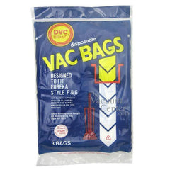 Package of 3 Replacement Eureka Style F + G Bags - TheVacuumCenter.com