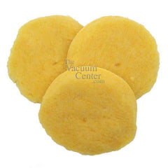 Package of 3 Replacement Lambswool Pads  Manufacturer Part No.: 5941 - TheVacuumCenter.com