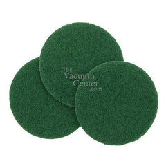 Package of 3 Replacement Green Scubbing Pads  Manufacturer Part No.: 5942 - TheVacuumCenter.com