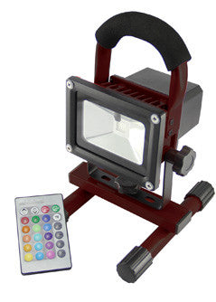 20 WATT 20w 3hr BATTERY CORDLESS WORKLIGHT  FLOOD LIGHT FLOOD-IT PRIME RGB