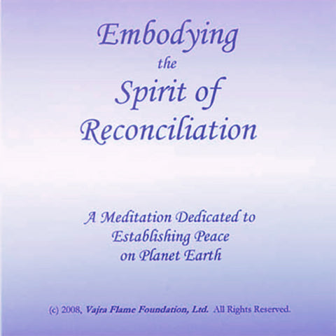 Embodying the Spirit of Reconciliation