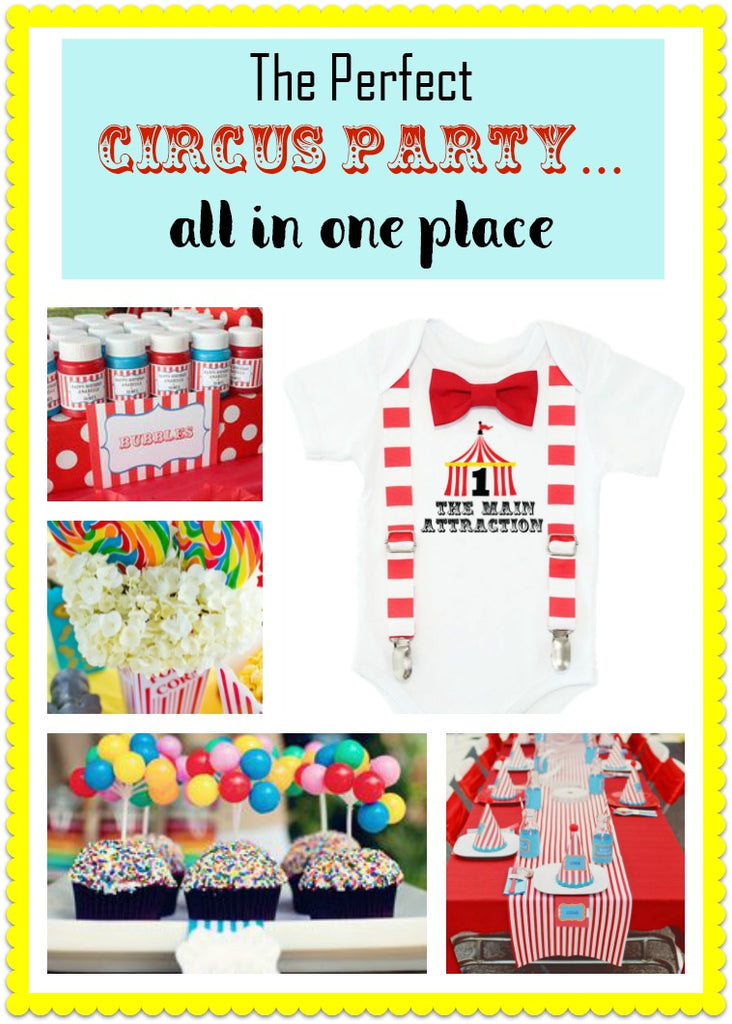 Circus Birthday Party Ideas And Outfit Inspiration