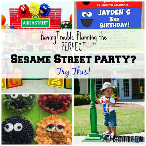 Sesame Street First Birthday Ideas For Baby Boys Elmo Cookie Monster Party