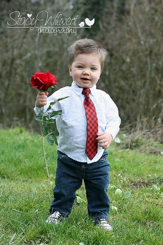 baby boy valentines day photo ideas with flower tie outfit
