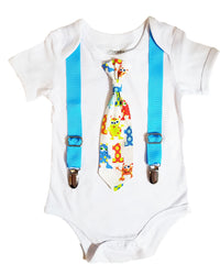 little monster first birthday tie outfit