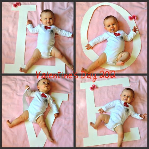 love valentines photo shoot baby boy valentines day outfit