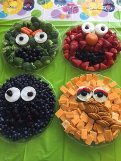 Sesame Street First Birthday Party Ideas