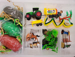 Play Dough Kit, Farm Play Dough Kit, Play Farm Kit, Sensory Kit, Play Dough Sensory Busy Box, Kids Gift, Down on the Farm, Little Farmer