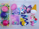 girls play dough kit unicorns pony butterflies food ice cream cone gems rainbows desserts playdough box gifts for girls
