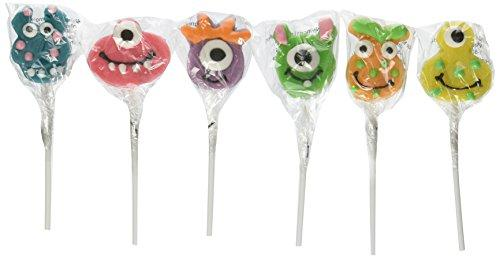 monster lollipops for monster party