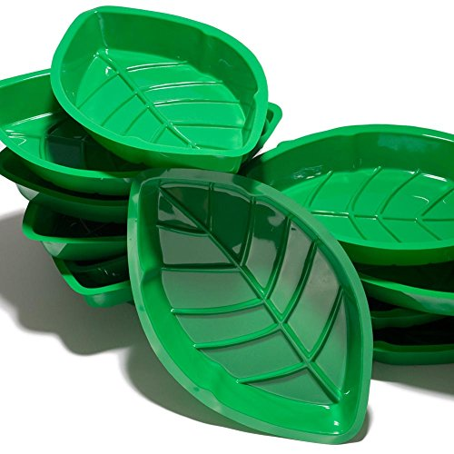 Palm Leaf Serving Trays (A dozen per package)