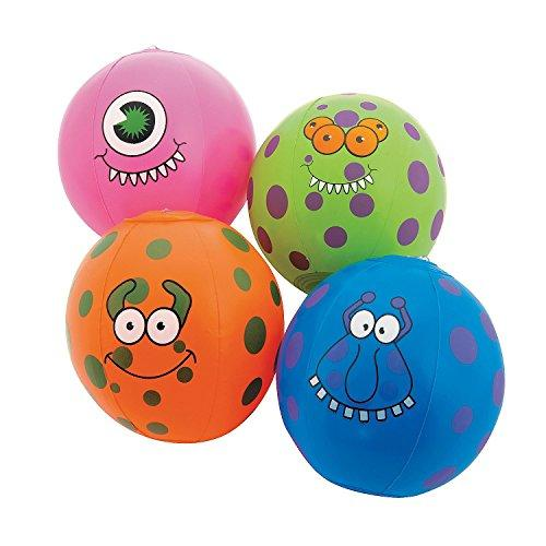 monster party favors balls