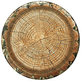 Cut Timber Party Plate (Large 10
