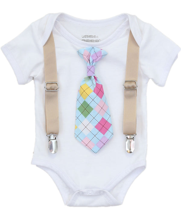Clothing  Boys' Clothing  Baby Boys' Clothing  easter outfit  easter outfit boy  baby boy  newborn boy  toddler boy  tan yellow  blue  green  easter sunday  church outfit  easter shirt  easter clothes noahs boytique easter onesie