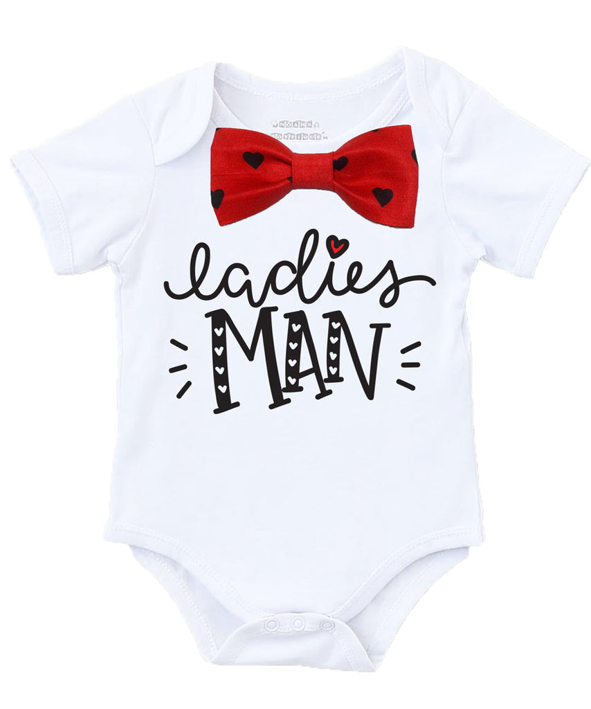 baby boy valentines outfit bow tie onesie red argyle ladies man shirt suspenders cute baby boy clothes heart