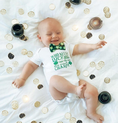 baby boy st patricks day outfit newborn st patricks day onesie first st pattys day shirt